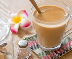 美味しいきなこ牛乳で胸は大きくなるのか?